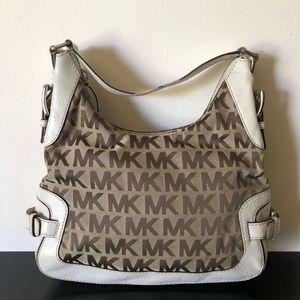 Michael Kors Vintage Monogram Shoulder Bag Purse